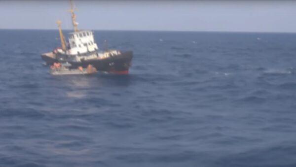 БПК «Вице-адмирал Кулаков» оказал помощь украинскому судну в Средиземном море - Sputnik France