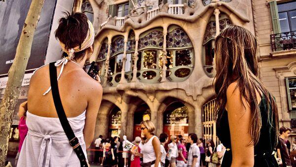 touristes, Barcelona - Sputnik France