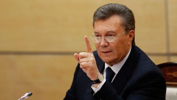 L'ex-président ukrainien Viktor Ianoukovitch - Sputnik France