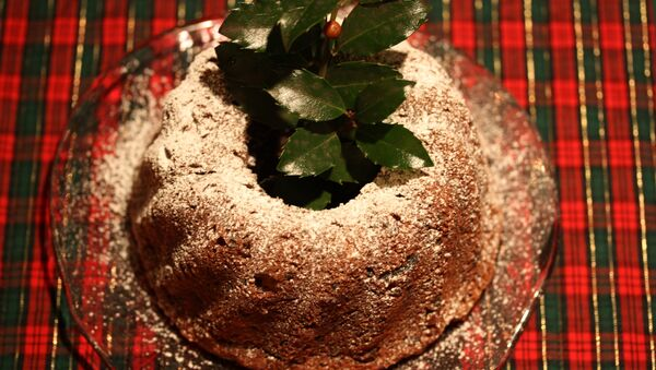 Un pudding de Noël - Sputnik France