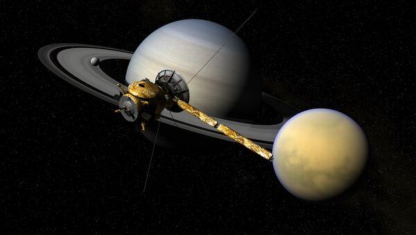 Cassini, Titan, & Saturn - Sputnik France