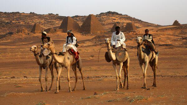 Les pyramides au Soudan - Sputnik France
