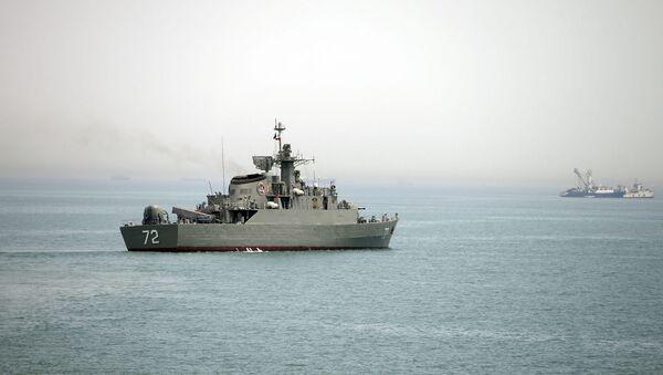 Иранский военный корабль Альборз - Sputnik France