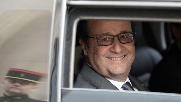 Der französische Präsident Francois Hollande - Sputnik France