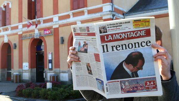 «C'est pas facile!», bilan du quinquennat de François Hollande - Sputnik France