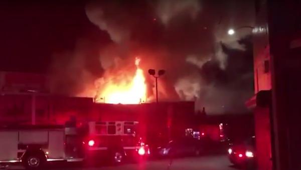 Incendie à Oakland - Sputnik France