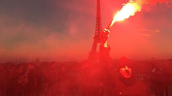 Policiers en colère - Sputnik France