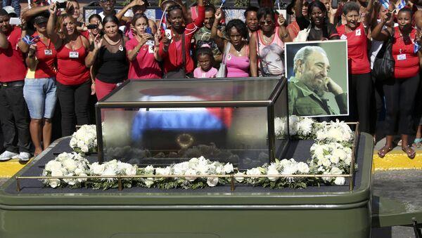 Cuba fait ses adieux à Fidel Castro - Sputnik France