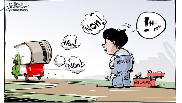 Italie: démission de Renzi après le «non» au référendum - Sputnik France