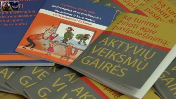 Ce manuel lituanien sur «l'intrusion russe» en images pour les plus petits - Sputnik France