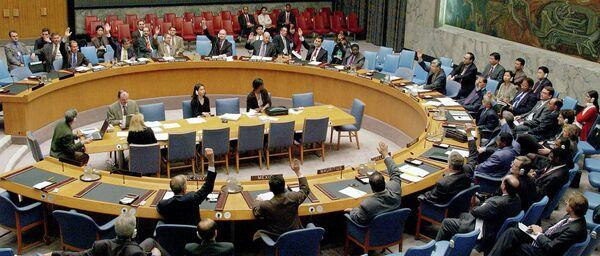 Une session du Conseil de sécurité de l'Onu - Sputnik France