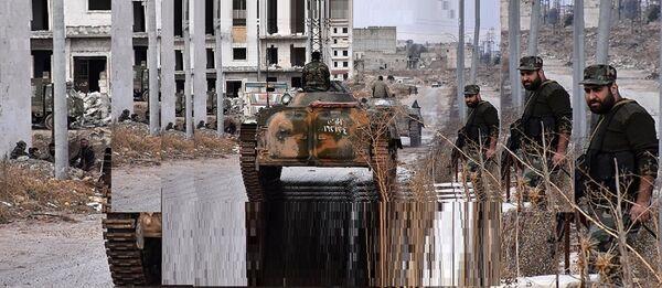 L'armée gouvernementale syrienne à Alep - Sputnik France