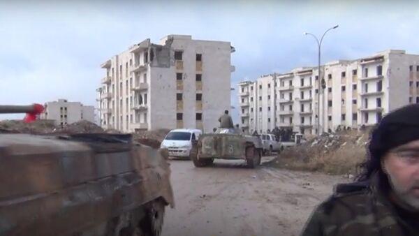 Damas libère encore un bastion des terroristes à Alep-Est - Sputnik France