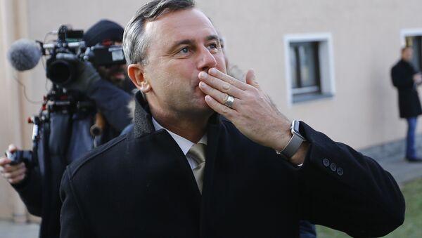 Norbert Hofer a reconnu sa défaite à l'élection présidentielle en Autriche - Sputnik France