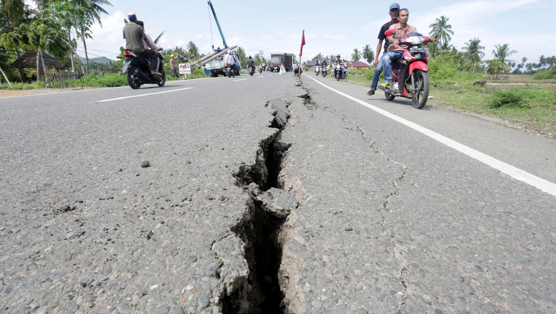 Un puissant séisme en Indonésie. Archive - Sputnik France, 1920, 26.07.2021