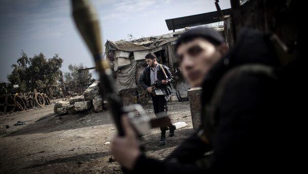 Combatientes del Ejército Libre Sirio en Alepo (Archivo) - Sputnik France