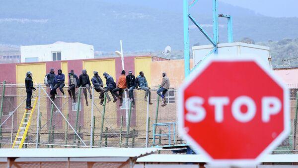 La frontière à Melilla - Sputnik France