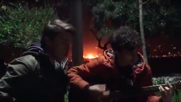 L'explosion à Istanbul captée en vidéo - Sputnik France