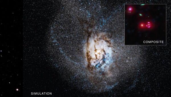 La galaxie SPT0346-52 - Sputnik France