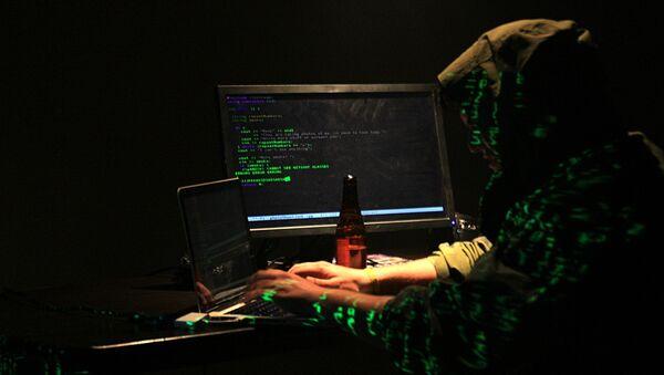 Un hacker - Sputnik France