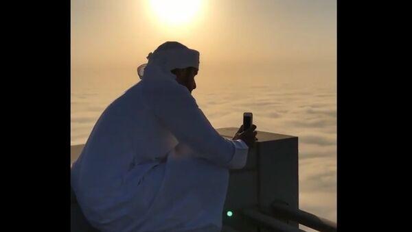 La vue depuis le toit du plus haut bâtiment du monde éblouit les internautes - Sputnik France