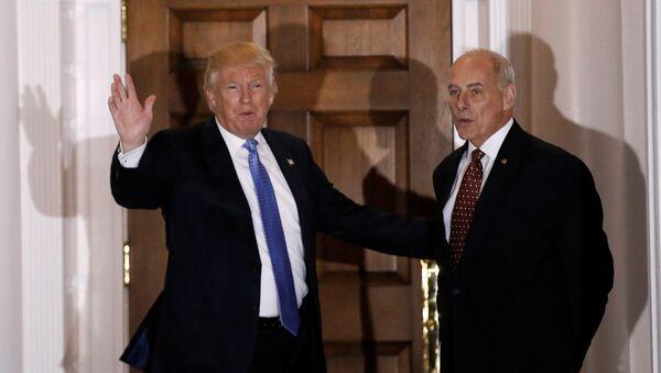 Donald Trump et John Kelly - Sputnik France