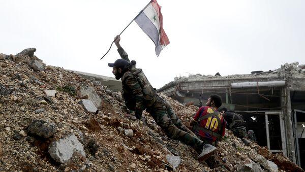 Un soldat de l'armée syrienne - Sputnik France