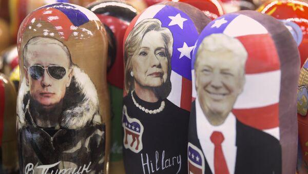 Trump, Poutine, Clinton - Sputnik France