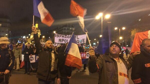 Première manifestation autorisée pour les policiers en colère - Sputnik France