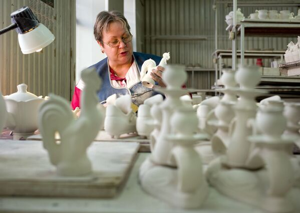 La production de la céramique de Gjel - Sputnik France