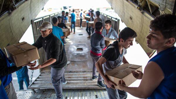 L'aide humanitaire russe en Syrie - Sputnik France