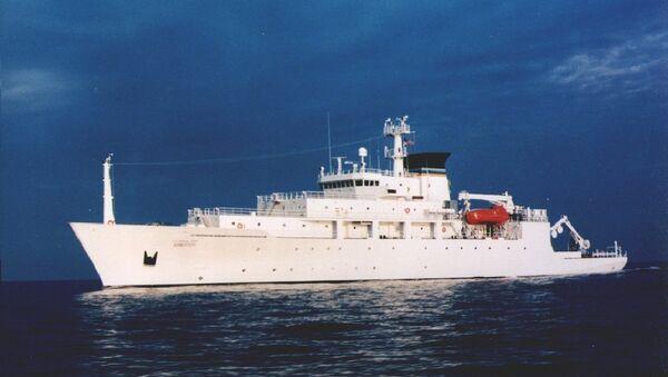 USNS Bowditch - Sputnik France