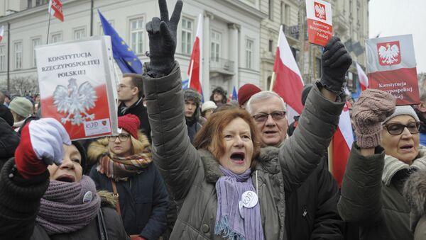Les quatre vérités de l'opposition polonaise qui «tente de s'emparer du pouvoir» - Sputnik France