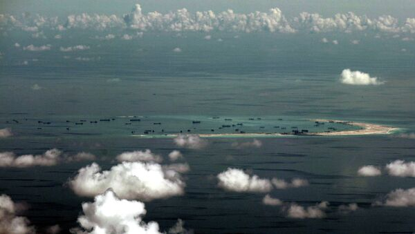 Spratly group of islands in the South China Sea, west of Palawan - Sputnik France