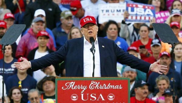 Le président américain élu Donald Trump - Sputnik France