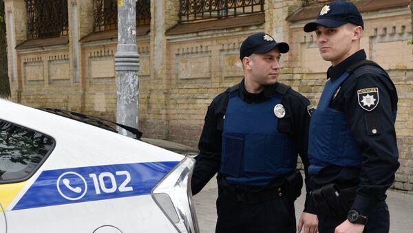Сотрудники Украинской полиции в Киеве - Sputnik France