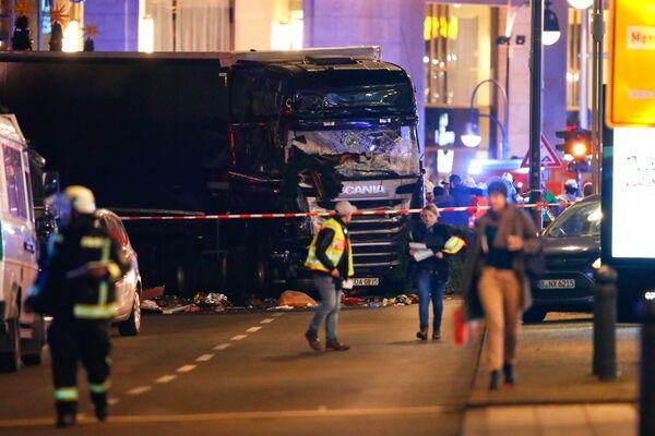 Attaque au camion à Berlin - Sputnik France