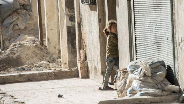 La fillette, Alep - Sputnik France