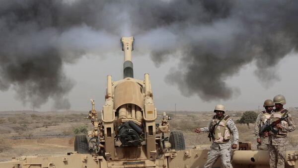 L'artillerie saoudienne participe à l'opération militaire au Yémen - Sputnik France