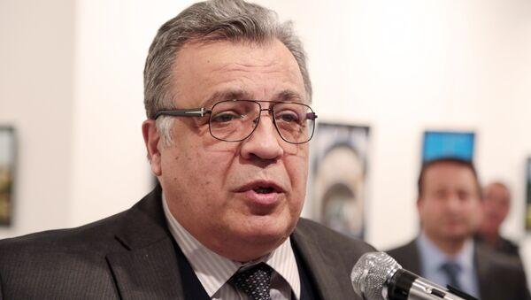 L'ambassadeur russe en Turquie Andreï Karlov - Sputnik France