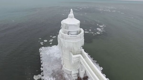 le phare St Joseph, le lac Michigan - Sputnik France