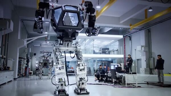 robot géant - Sputnik France