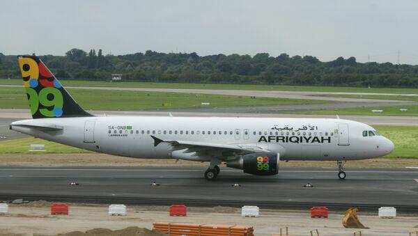 Un Airbus A320 de la compagnie libyenne Afriqiyah Airways - Sputnik France