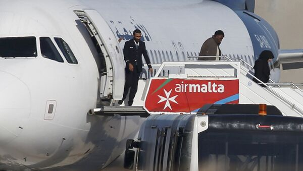 Avion détourné à Malte - Sputnik France