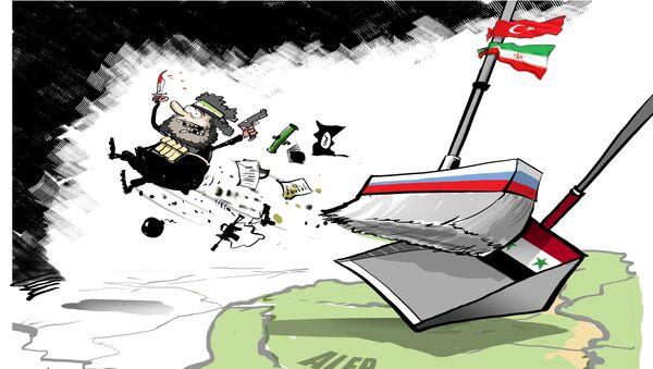 L'armée syrienne impose un contrôle total sur Alep - Sputnik France