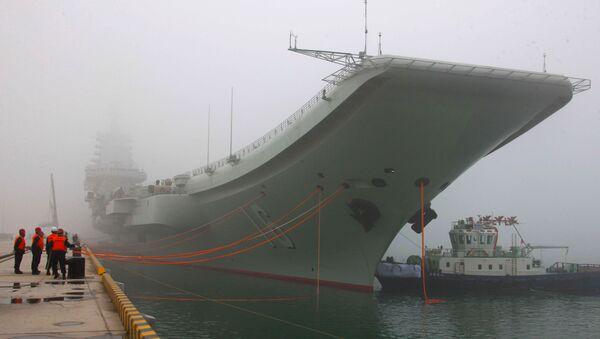 Liaoning, premier porte-avions chinois - Sputnik France