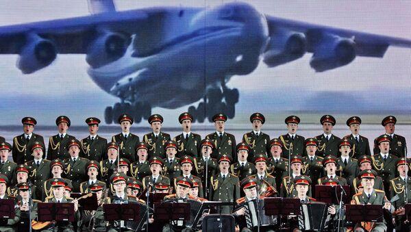 «L'Armée rouge» en deuil de ses collègues du chœur Alexandrov - Sputnik France