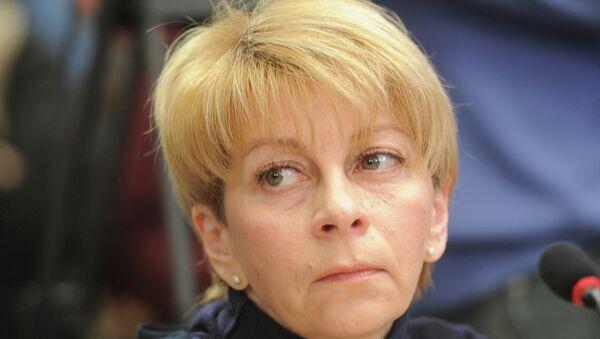 Elizaveta Glinka, head of the charity fund Spravedlivaya Pomoshch - Sputnik France