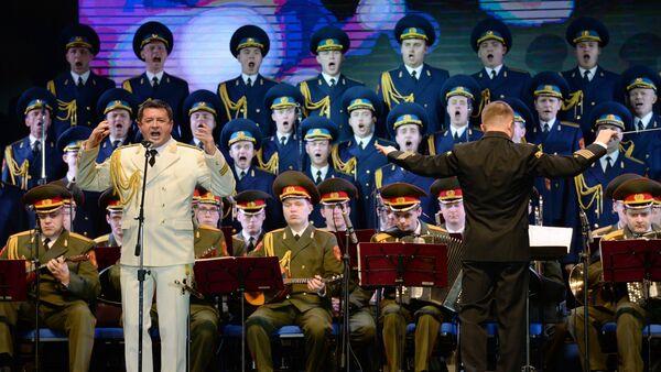 Performance of Alexandrov ensemble at Winter Arts Festival in Sochi - Sputnik France