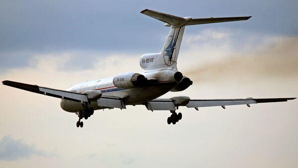 Un Tu-154 - Sputnik France